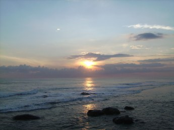 Pastel sunsets from the old Dutch fort in Galle.